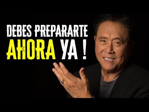 DEBES PREPARARTE PARA LA GRAN CAIDA - Revelador Mensaje de Robert Kiyosaki [Traducción al Español]