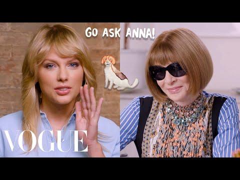 Taylor Swift Asks Anna Wintour 8 Questions | Go Ask Anna | Vogue