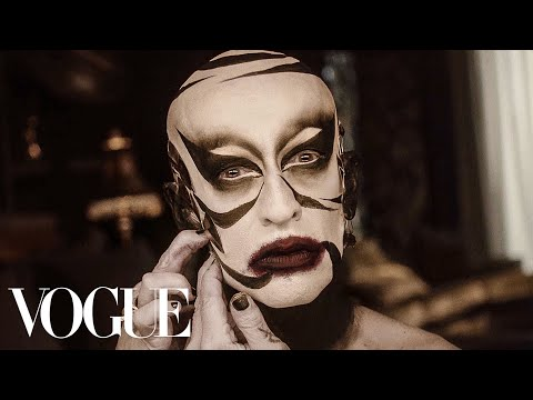 Inside Chadd Curry's Extreme Beauty Routine | Vogue