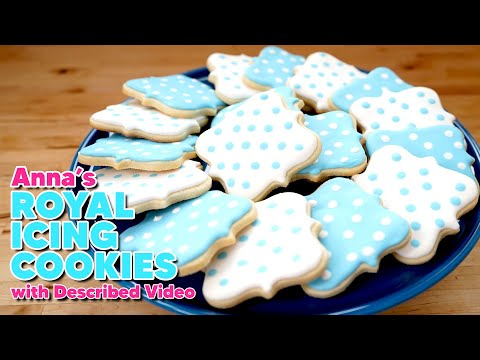 DESCRIBED VIDEO | Cookies for Classic Wedding | Anna's Occasions