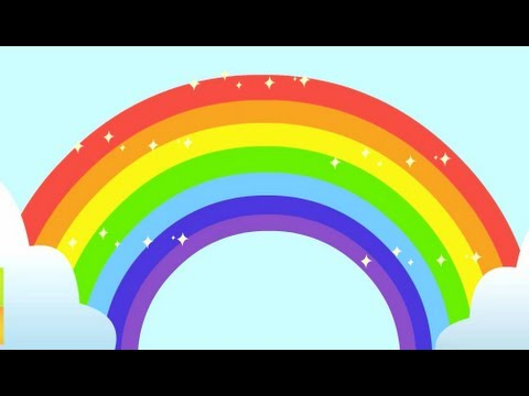 Rainbow Song Animated Learning Song For Children Youtube