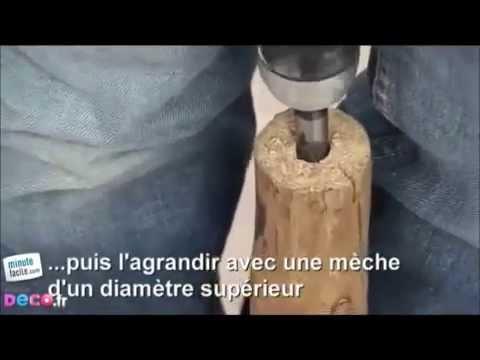 Comment Fabriquer Une Lampe En Bois Flott YouTube