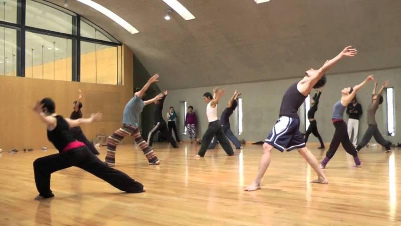 Contemporary Dance Training.mov - YouTube