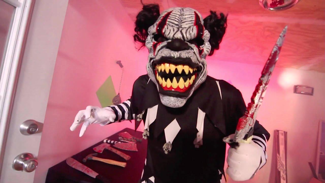 Last Laugh The Clown Ani-Motion™ Mask
