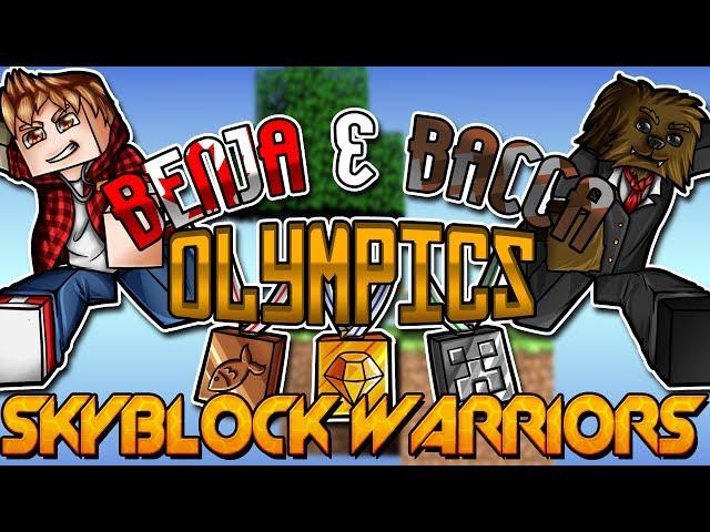 Minecraft Benja Amp Bacca Olympics Game 2 SkyBlock Warriors