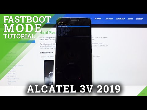 How to Enter Fastboot Mode in ALCATEL 3V 2019 – Exit Fastboot Mode