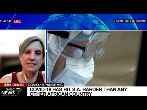South Africa officially exits its third wave of coronavirus infections: Dr. Michelle Groome