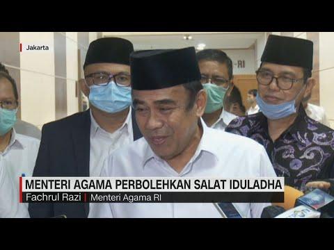 Menteri Agama Perbolehkan Salat Idul Adha