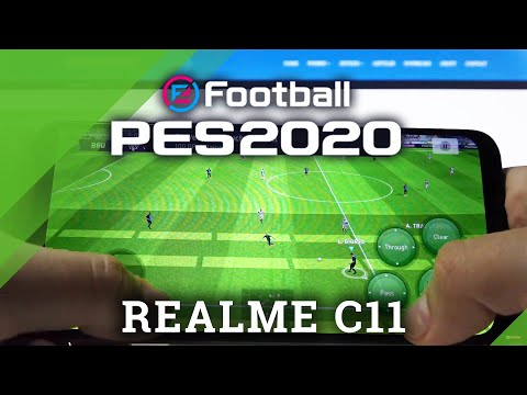 PES on REALME C11 – Pro Evolution Soccer Gameplay