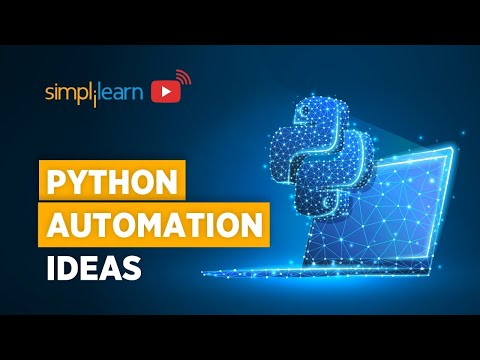Python Automation Ideas | Python Automation Projects For Beginners | Python Training | Simplilearn