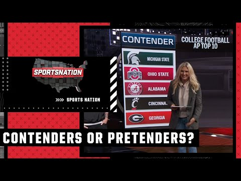 Contenders and Pretenders after Week 8 of the college football season | SportsNation