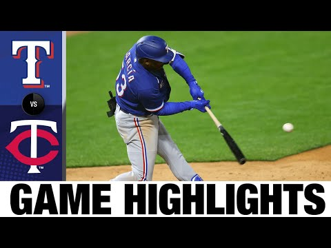 Rangers vs. Twins Full Game Highlights (5/4/21) | MLB Highlights