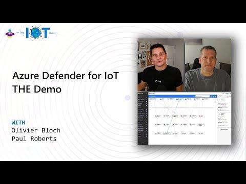 Azure Defender For IoT  - THE demo - IoTShow