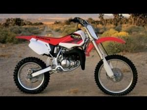2001 Honda Cr80rb Sound