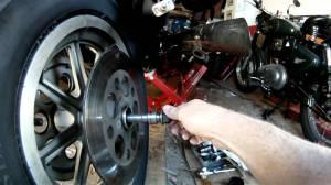 HarleyDavidson Rear Axle Reversal  YouTube