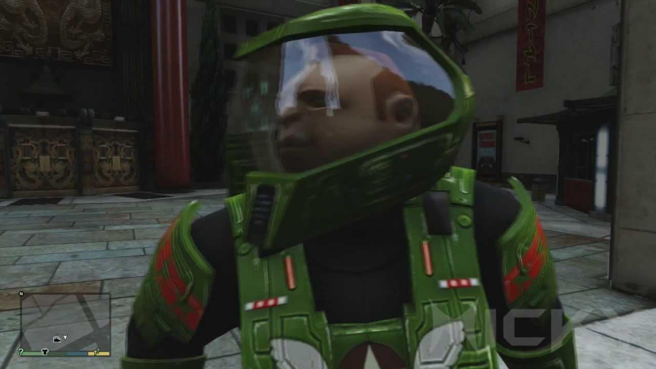 GTA V Easter Eggs Master Chief YouTube