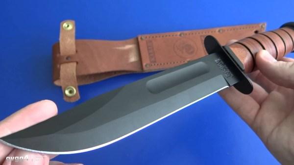 Боевой нож: Ka-Bar Full Size USMC - YouTube