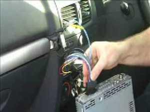 How to install a Sony CDXGT420U car stereo  YouTube