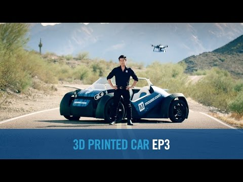 Mouser Electronics, Grant Imahara and Local Motors Showcase Transformative 3D-Printed Autonomous Vehicle Platform With Drone Technology