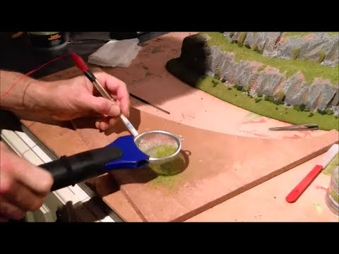 Modifying a static grass applicator for detailed wargames ...