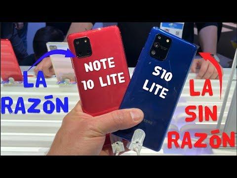 Experiencia Galaxy S10 LITE y Note 10 LITE, Por qué Samsung?