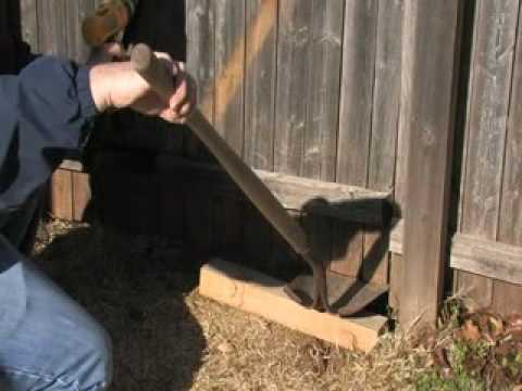 EZ Brace Installation Video How To Fix A Sagging Wood