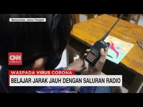 Belajar Jarak Jauh dengan Saluran Radio