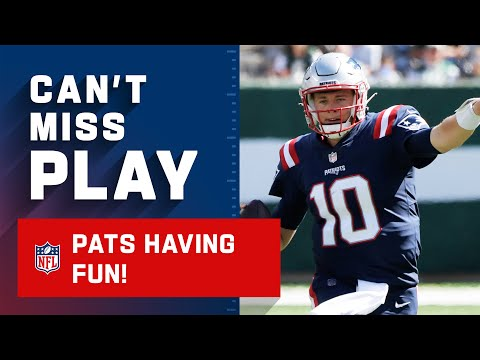 Patriots Bust Out the Trick Play on TD Drive