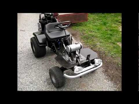 Home Made Lawn Mower Go Kart