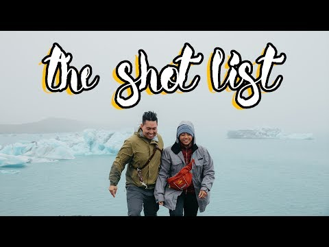 Iceland Pilgrimage  - The Shot List