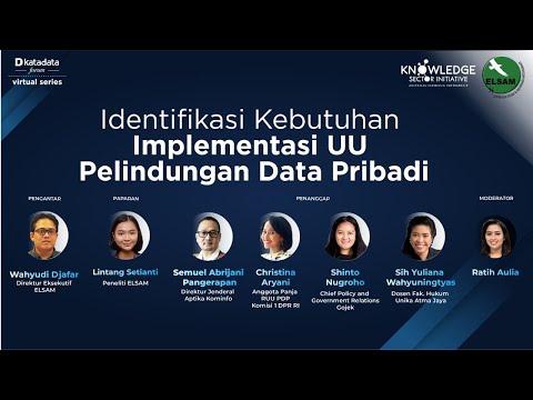 Katadata Forum Virtual Series: Identifikasi Kebutuhan Implementasi UU Pelindungan Data Pribadi