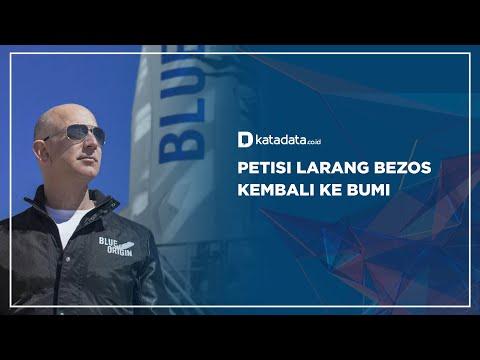 Petisi Larang Bezos Kembali Ke Bumi | Katadata Indonesia