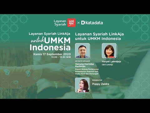 Layanan Syariah LinkAja untuk UMKM Indonesia