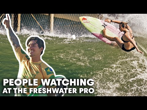 What's It Really Like Behind The Scenes At The Surf Ranch? | People Watching