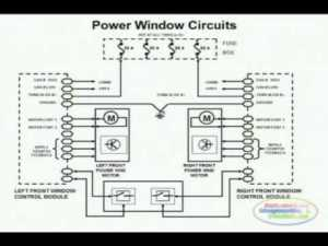 Power Window Wiring Diagram 1  YouTube