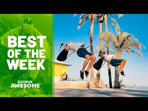 Biking Backward, Parkour & More | Best of the Week