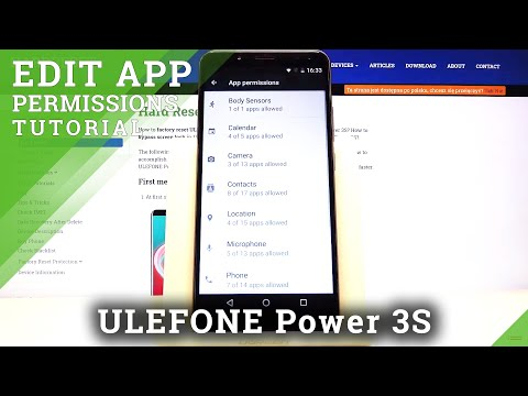 How to Set Up App Permissions in Ulefone Power 3s – Manage App Permission Settings