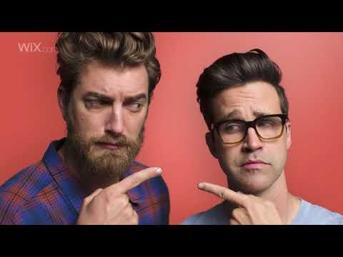 Rhett & Link are so proud of their stunning Wix website, they decided to share it on the world's biggest stage- the Big Game. (And did you really think Wix would miss out on all the fun this year?)