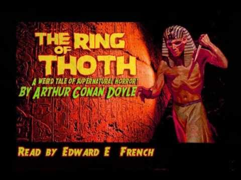 Illustration of The Ring of Thoth - audiobook read by Edward French