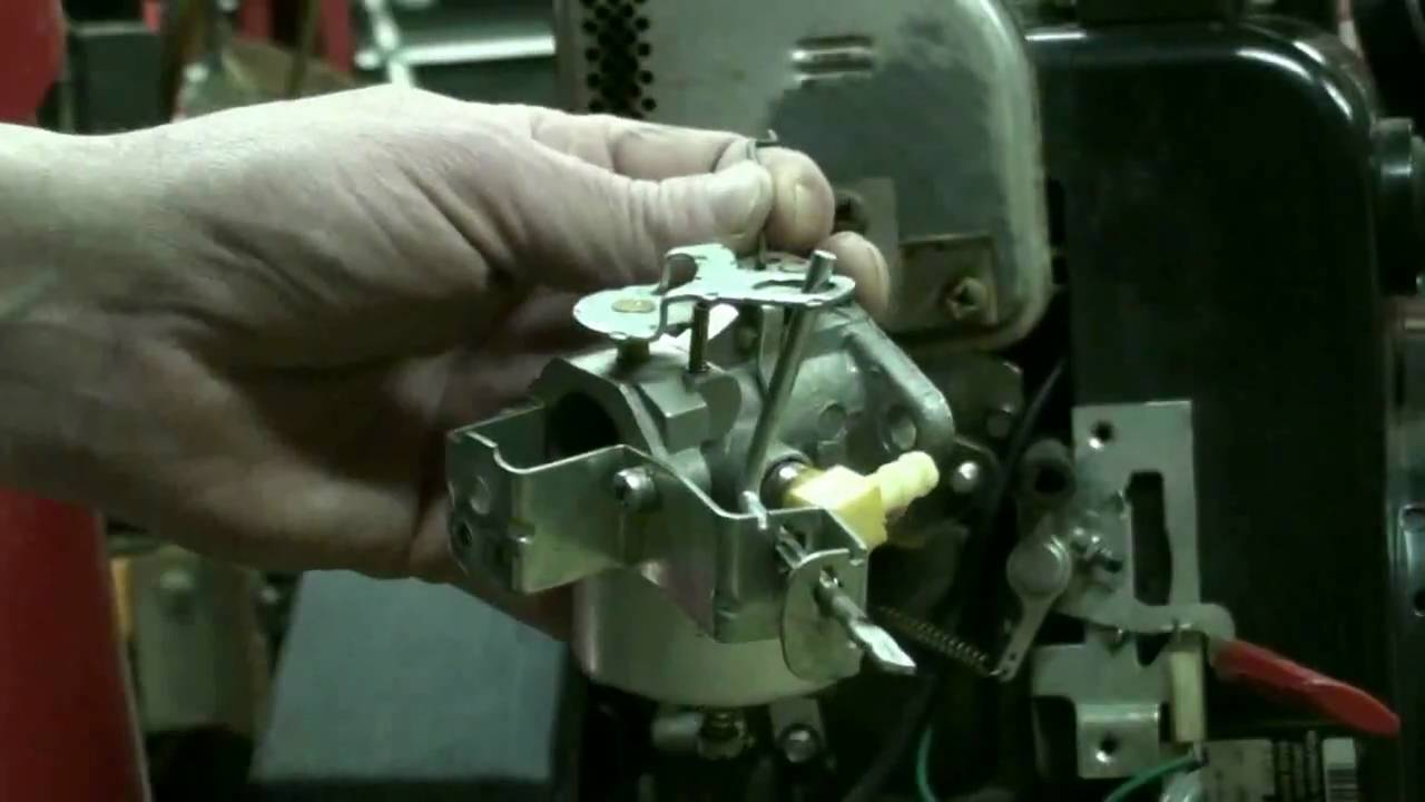 Tecumseh Snow King Carburetor Repair Video On Troy Bilt