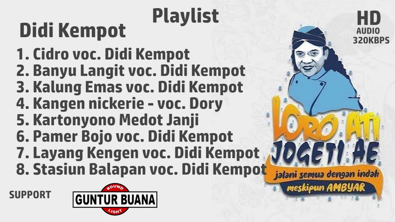 Full Album Didi Kempot Spesial Kangen Nickerie Playlist Mp3