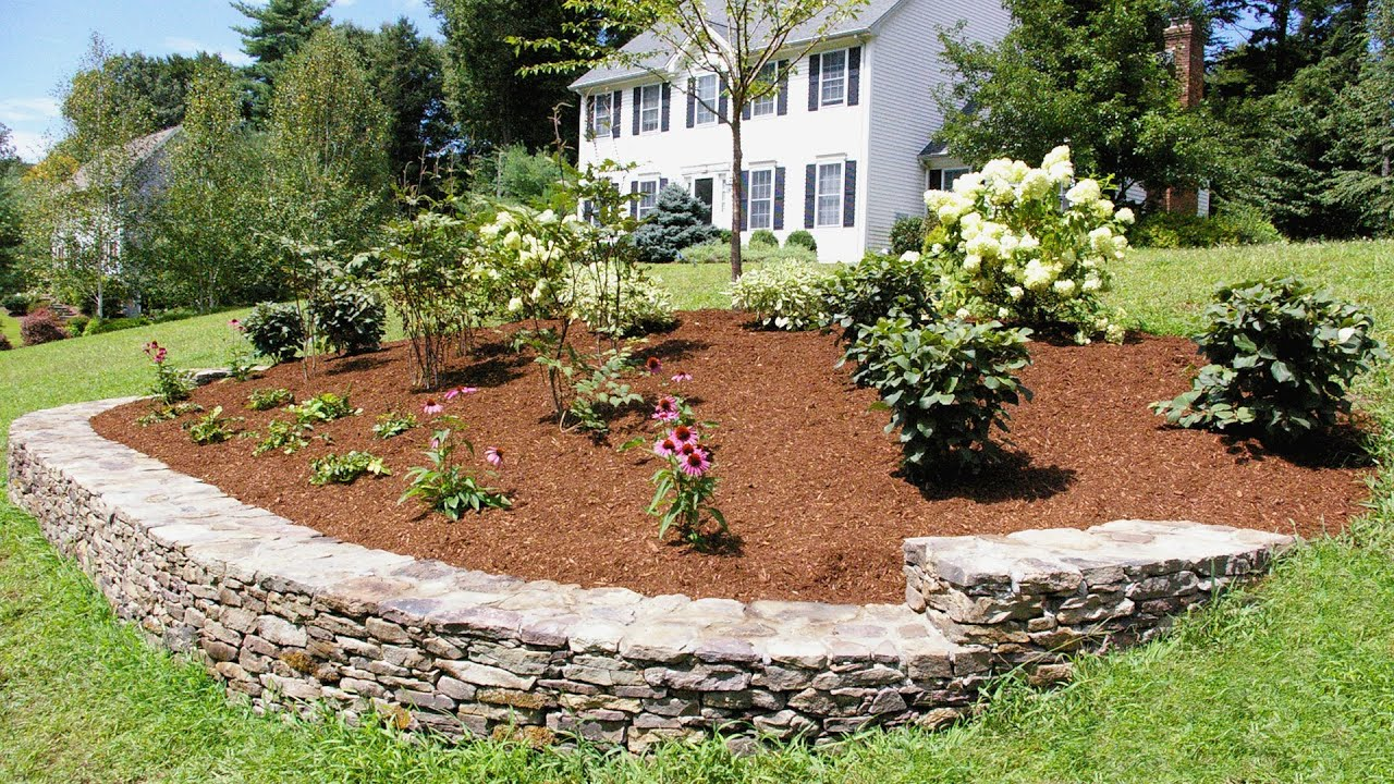 Landscaping Ideas for a Front Yard: A Berm for Curb Appeal ... on Backyard Lawn Designs  id=63233