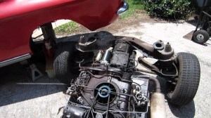 Pulling A Corvair Engine In Four And A Half Minutes!!! (7