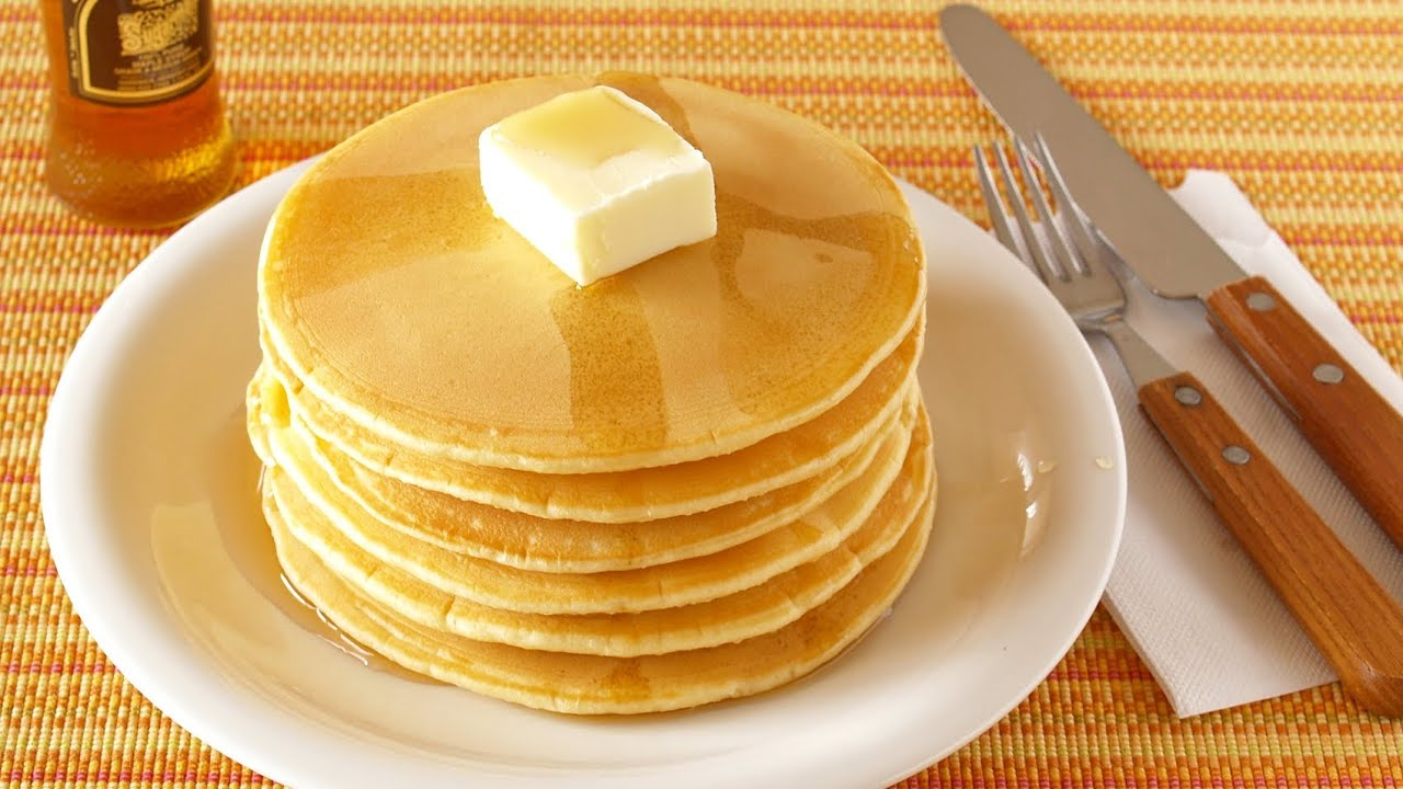 How To Make Pancakes From Scratch (Homemade Pancake) パンケーキ
