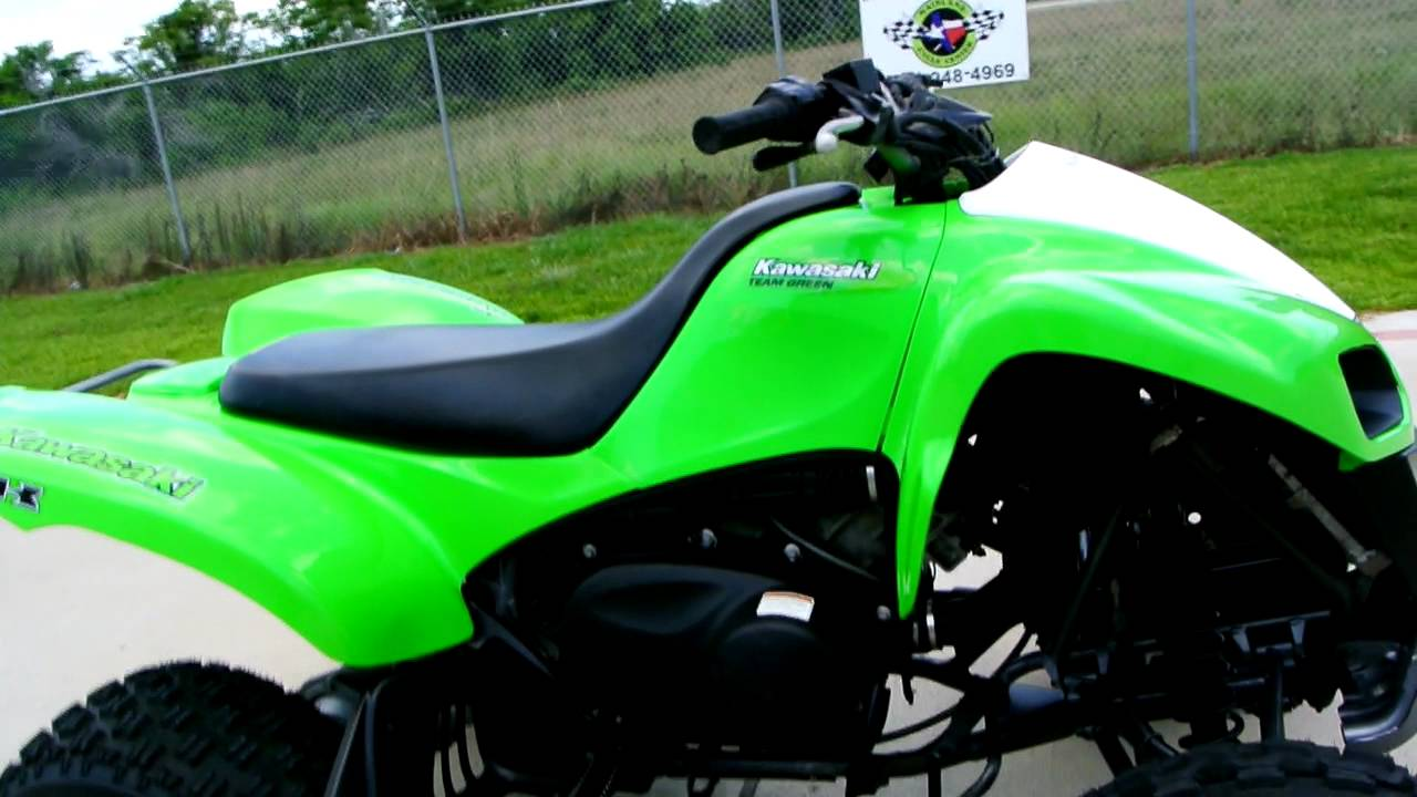 Kawasaki Kfx700 Sport Atv With Automatic Transmission