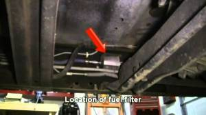 How To Replace the Fuel Filter in a 1997 Ford F150  YouTube