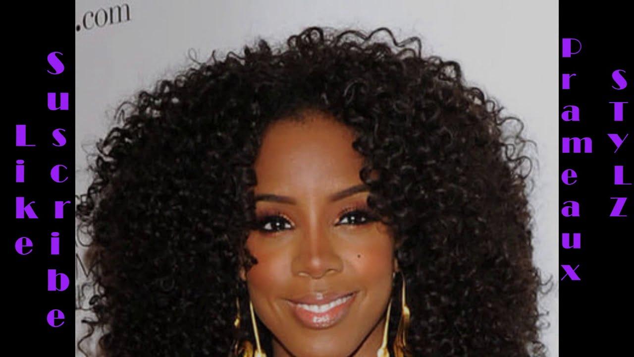 How To Crochet Braid Kelly Rowland Inspired Hair Tutorial