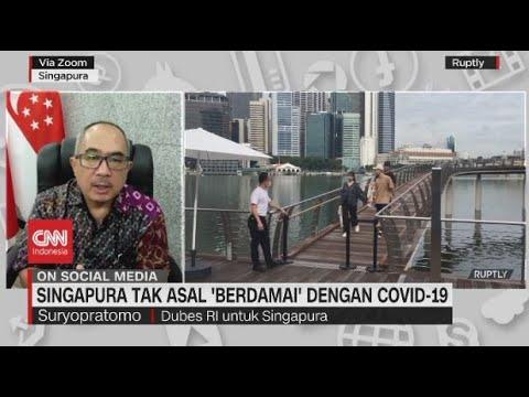Singapura Tak Asal 'Berdamai' Dengan Covid 19