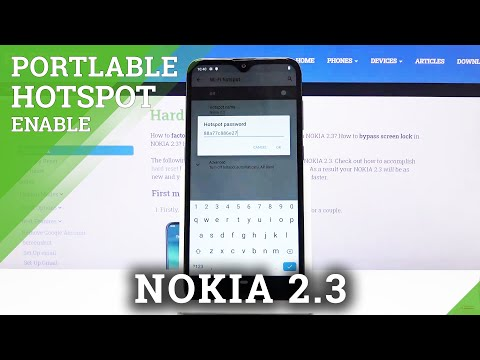 How to Use Portable Hotspot in NOKIA 2.3 – Wi-Fi Sharing