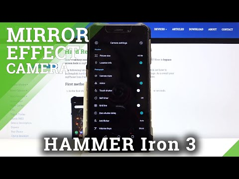 How to Turn On / Off Mirror Effect in Hammer Iron 3 - Camera Features